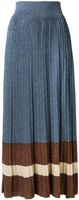 Altea knitted pleated skirt