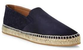 Bottega Veneta Two-Textured Suede Espadrilles