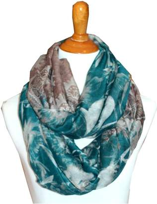 SCARF_TRADINGINC FloralLight Weight X-large Infinity Scarf