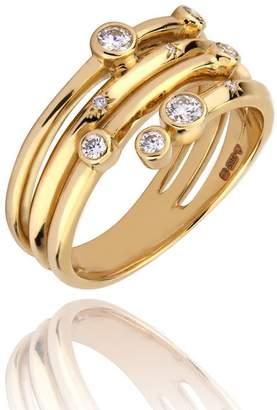 Lark & Berry Nocturnal Diamond Wrap Ring