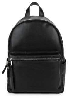 French Connection Classic Faux Leather Backpack