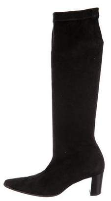 Robert Clergerie Clergerie Paris Suede Knee-High Boots