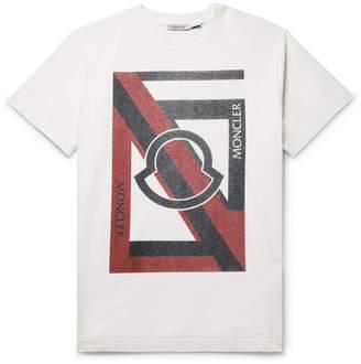 Craig Green Moncler Genius 5 Moncler Logo-Print Cotton-Jersey T-Shirt