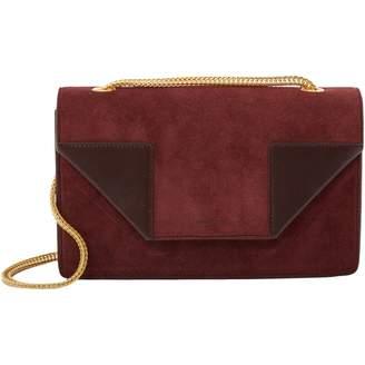 2ecc15fa Saint Laurent Betty Burgundy Suede Handbag