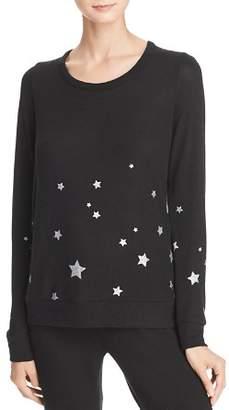 Chaser Glitter Star Sweatshirt