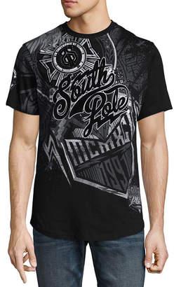 Southpole South Pole Short Sleeve Crew Neck T-Shirt