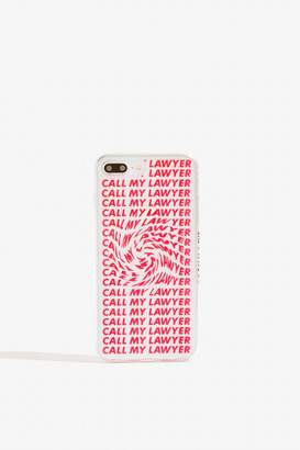 Skinny Dip Call My Lawyer Case - iPhone 6/6S/7 Plus 8 Plus by Skinnydip