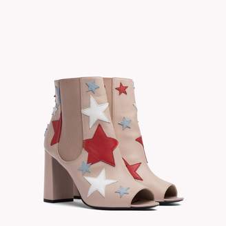 Tommy Hilfiger Star Peep Toe Boot