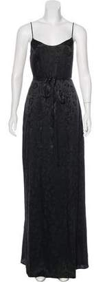 L'Agence Silk Maxi Dress w/ Tags