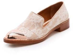 Rachel Roy Lane Lace Menswear Flats