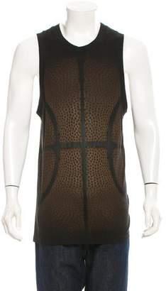 Givenchy Basketball Print Sleeveless T-Shirt w/ Tags
