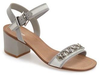 Dune London Women's 'Maisie' Embellished Block Heel Sandal