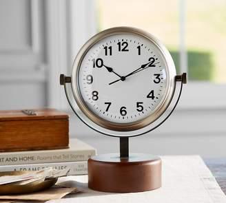 Pottery Barn Caruso Large Desktop Clock