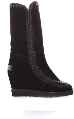 Mou 70mm Eskimo French Tall Shearling Boots