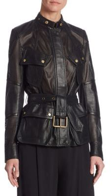 Ralph Lauren Collection Grafton Leather Jacket $3,990 thestylecure.com