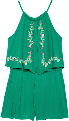 Tucker + Tate Look at Me Embroidered Romper