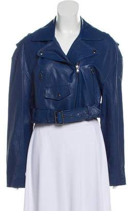 Tibi Leather Moto Jacket w/ Tags