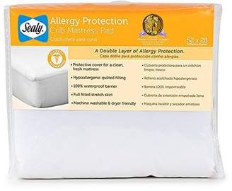 Sealy Allergy Protection Crib Mattress Pad (Discontinued by Manufacturer) by