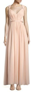 Pleated Empire Gown $278 thestylecure.com