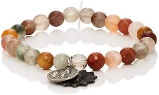 Miracle Icons Men's Vintage-Icon Beaded Bracelet