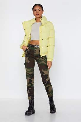 Nasty Gal Can You See Me Now Camo Skinny Jeans