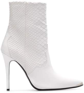 Amiri pointed toe ankle boots