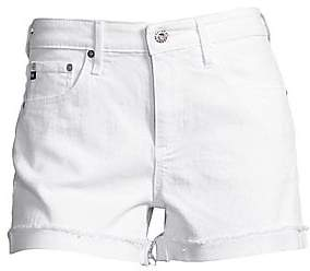 AG Jeans Women's Hailey Slouchy Cuffed Denim Shorts