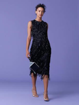 Diane von Furstenberg Nadi Fringe Dress
