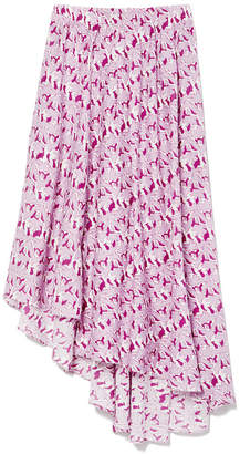 Apiece Apart Turkanna Asymmetric Voile Skirt