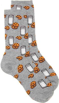 Hot Sox Milk & Cookies Crew Socks - Women's