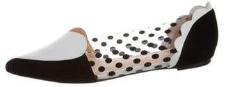 Isa Tapia Celeste Pointed-Toe Flats w/ Tags