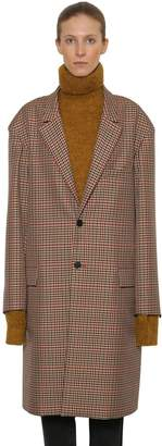 Blend of America Ambush Oversize Check Wool Coat