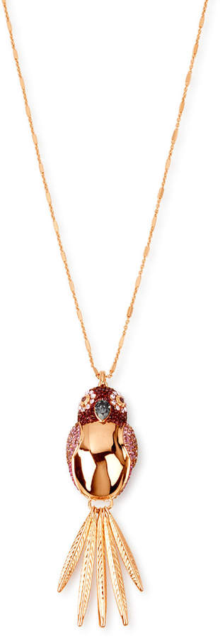 Parrot Pendant Necklace