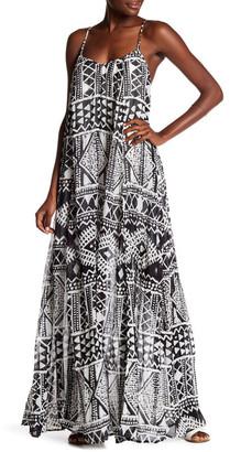 TORI RICHARD Printed Maxi Dress $278 thestylecure.com