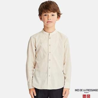 Uniqlo Kid's Cotton Lawn Long-sleeve Shirt (ines De La Fressange)