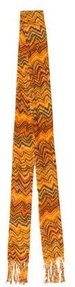 Missoni Silk Open Knit Scarf