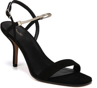 Diane von Furstenberg Frankie Suede Sandals with Chain Strap