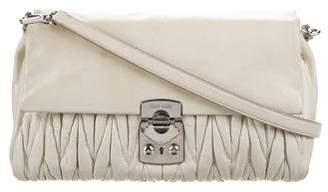 Miu Miu Matelasse Leather Crossbody