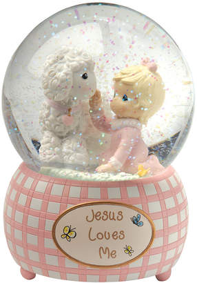 Precious Moments Jesus Loves Me Snow Globe, Girl