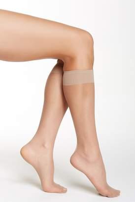 Shimera Knee High Sheer Socks - Pack of 2
