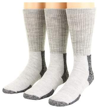 Thorlos Thick Cushion Hiking Wool Blend 3-Pack Crew Cut Socks Shoes