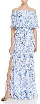 Show Me Your MuMu Hacienda Off-the-Shoulder Maxi Dress - 100% Exclusive $172 thestylecure.com