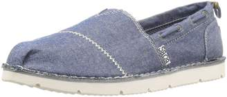 Skechers BOBS from Women's Chill Luxe - Buttoned Up Flat
