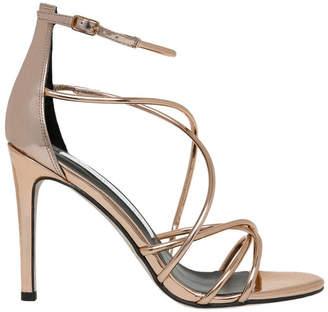 Harriet Rose Gold Leather Sandal
