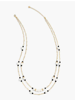 Talbots Pretty Pearl Long Necklace