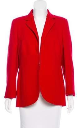 Akris Structured Long Sleeve Jacket