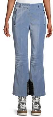 Moncler Velvet Pants w/ Zip Pockets