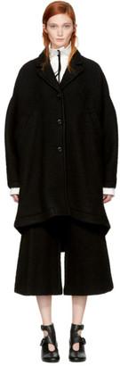 MM6 Maison Martin Margiela Black Casentino Coat $855 thestylecure.com