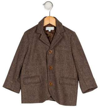 Marie Chantal Boys' Wool-Blend Blazer