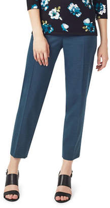 Precis Petite Wool-Blend Tapered Trousers